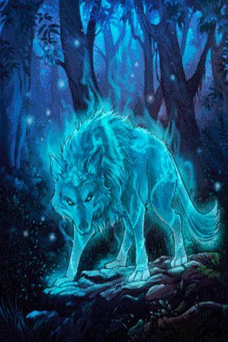 Wolf Colors Live Wallpaper APK