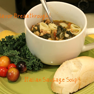 Italian Sausage Soup!