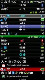 Super Status Bar Screenshot 1