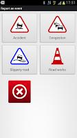 Screenshot of V-Traffic: traffic info