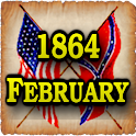1864 Feb Am Civil War Gazette