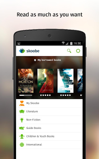 Skoobe - The eBook Flatrate