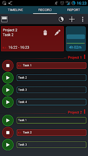 Gleeo Time Tracker - screenshot thumbnail