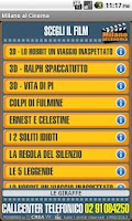 Screenshot of Webtic Milano al Cinema