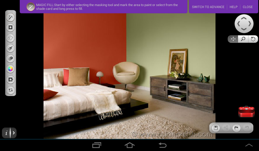 Wall Paint App screentest beta - android apps on google play
