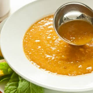 Turkish Red Lentil Soup.