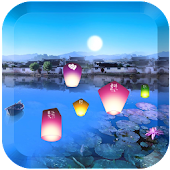 Colorful lanterns Lwp