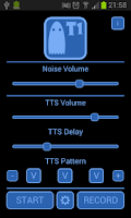 Screenshot of Ghost Box T1 TTS EVP