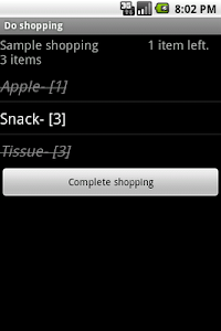 Mart shopping screenshot 1
