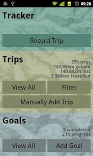 Snail Trail GPS Sports Tracker