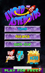 Avoid the Asteroids