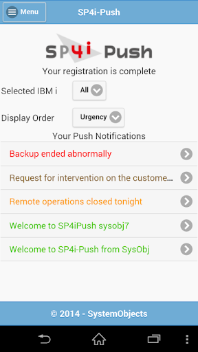 24 7 Notifications from IBM i