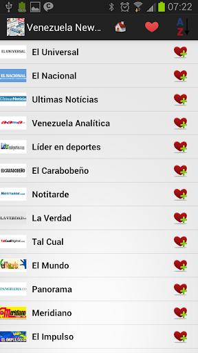 Venezuela Newspapers And News