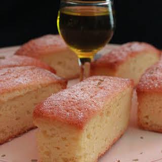 Lemon and Rosemary Cake.