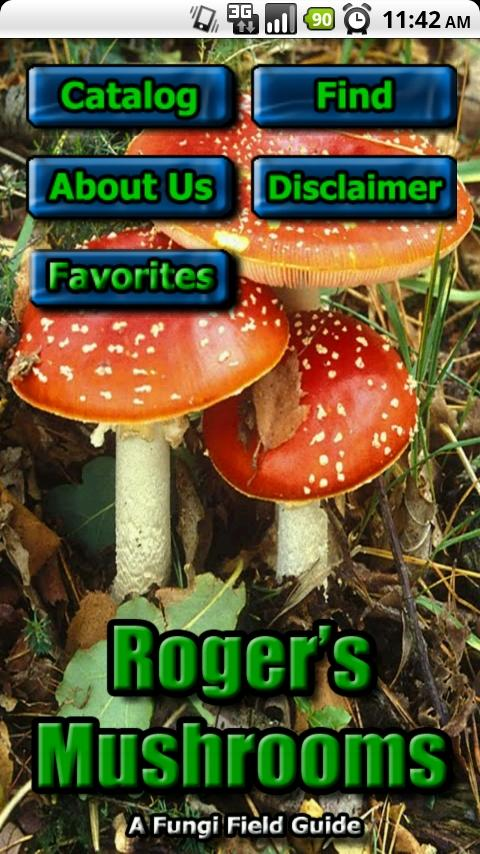 Roger Phillips Mushrooms Lite- screenshot