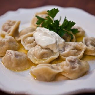 Pelmeni (Meat Dumplings)