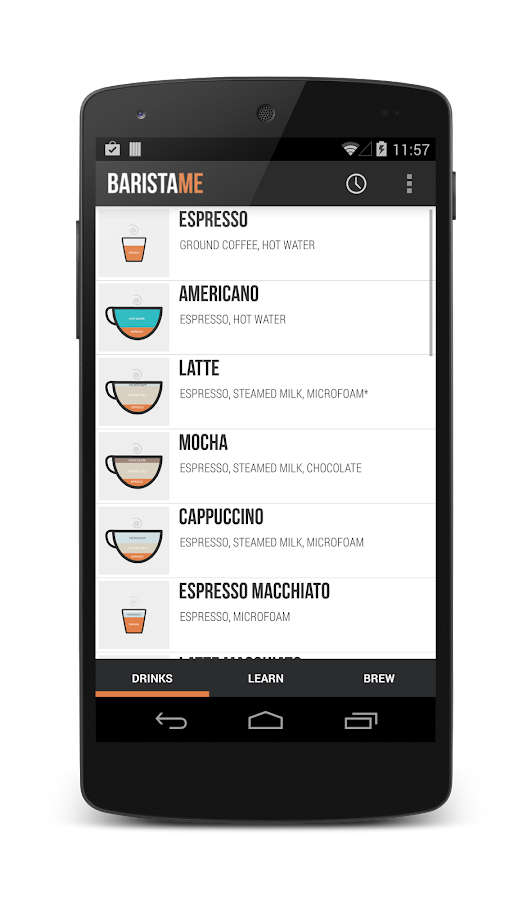 Baristame - Coffee Guide FREE - screenshot