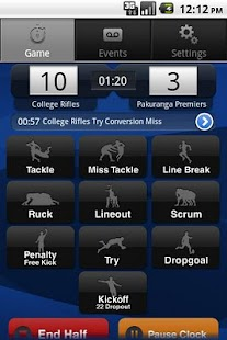 i-Coach Rugby - screenshot thumbnail