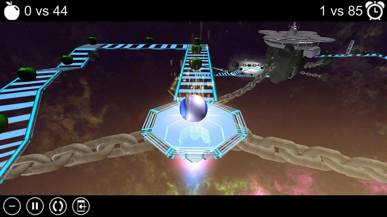 Apple Run 3D Space- screenshot