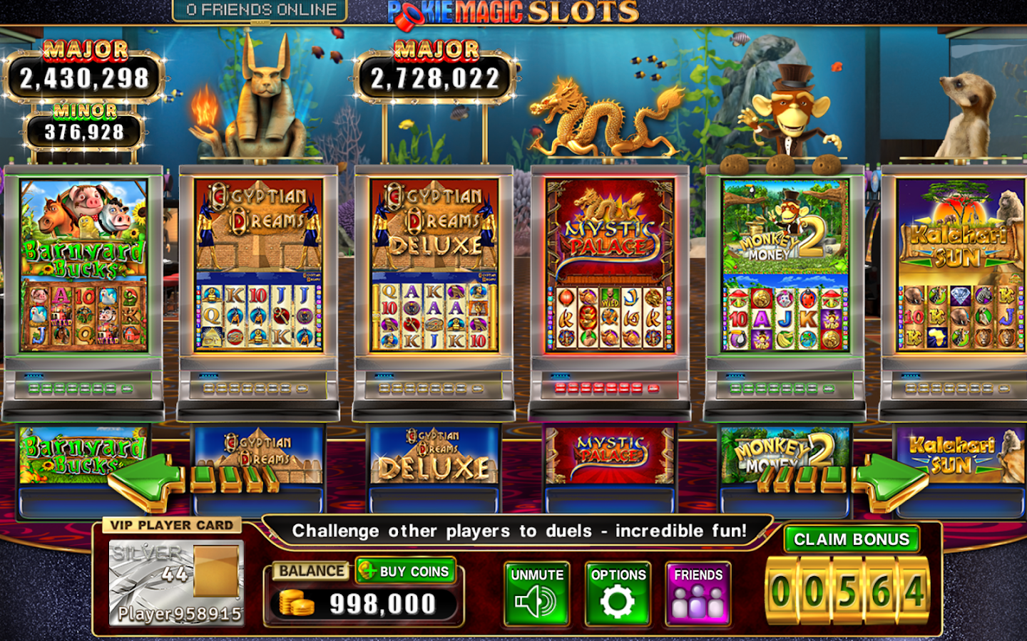 Pokie Magic Casino Slots- screenshot