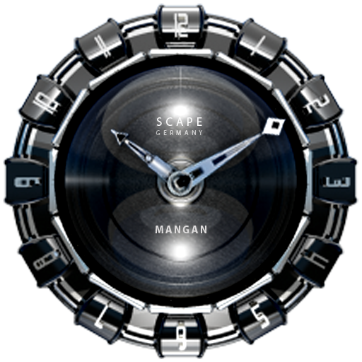 MANGAN Luxury Clock Widget