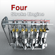 Interactive Four-Stroke Engine