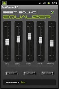 最佳音質的EQ
