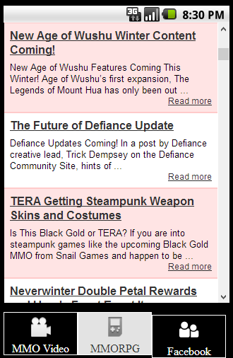 MMORPG News and Video Guides