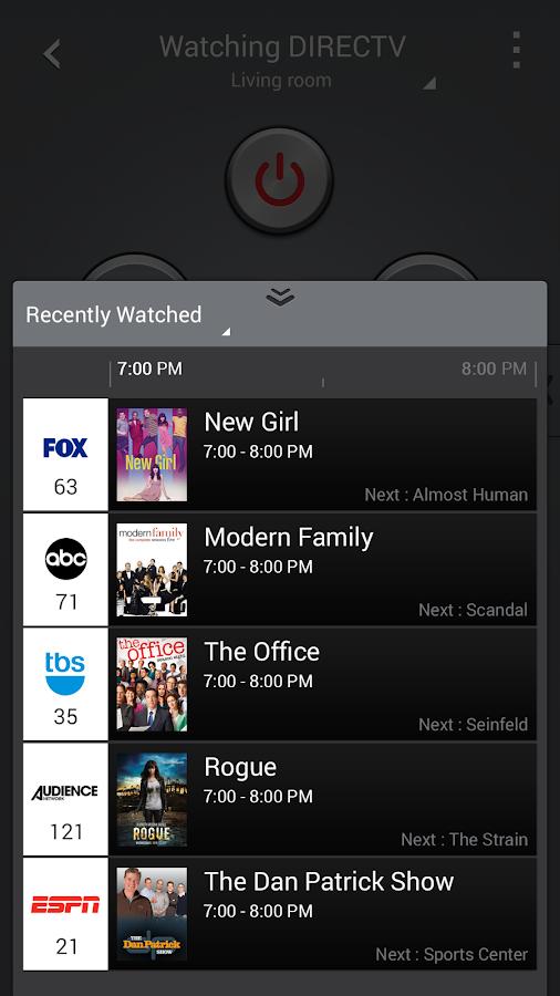 Samsung WatchON™ (On TV)- screenshot