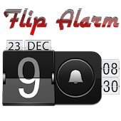 Alarm clock. widget. digital.