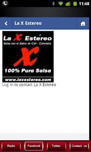 La X Estereo 100% Salsa - screenshot thumbnail