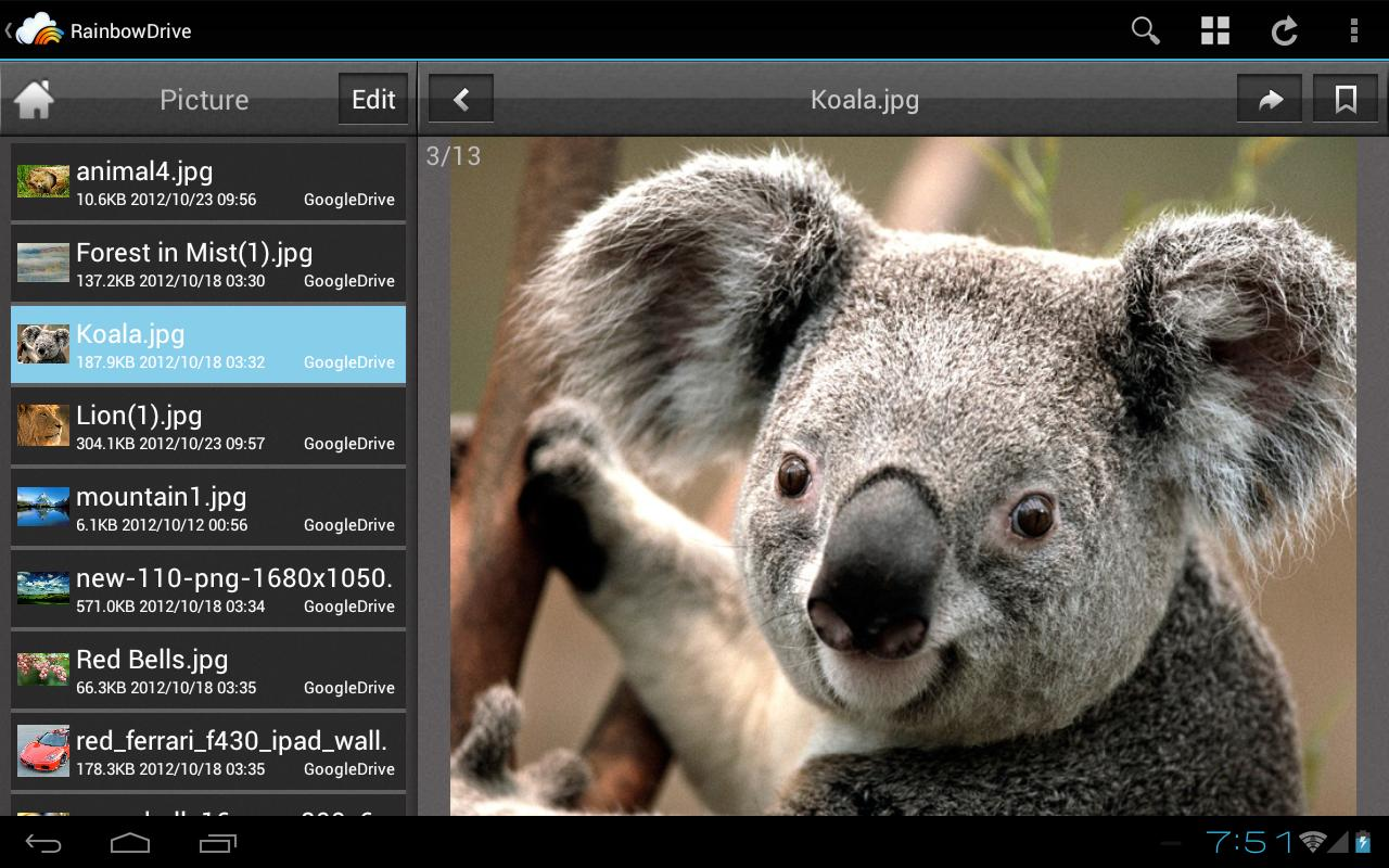RainbowDrive - screenshot
