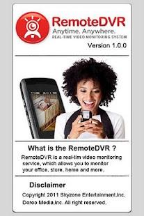 RemoteDVR - screenshot thumbnail