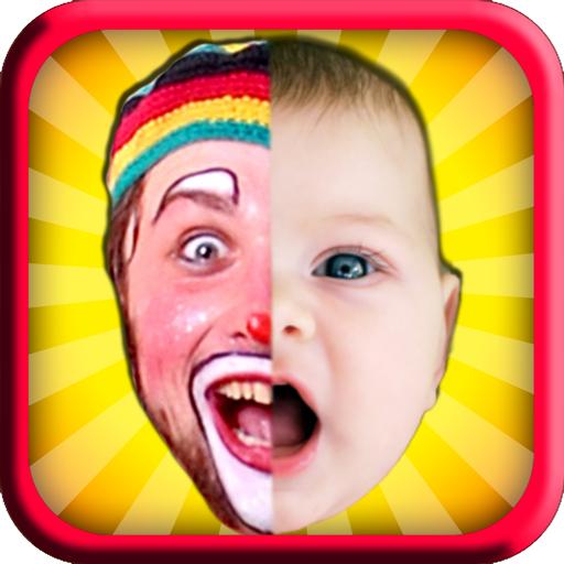 2 Face Maker: Fun Photo Editor Icon