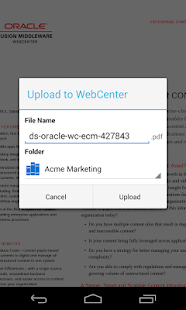 Oracle WebCenter Content - screenshot thumbnail