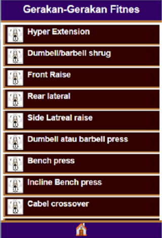 Beberapa Gerakan Fitness