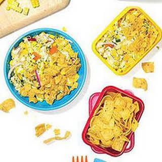Cheesy-Spicy Corn and Corn Chip Salad.