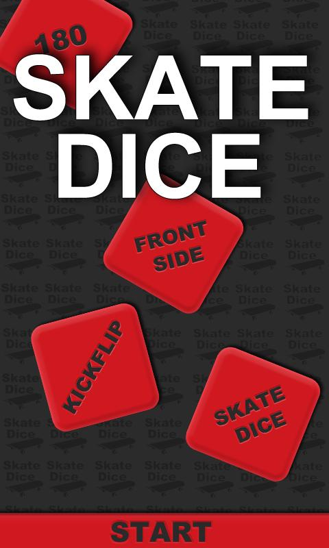 Skate Dice- screenshot