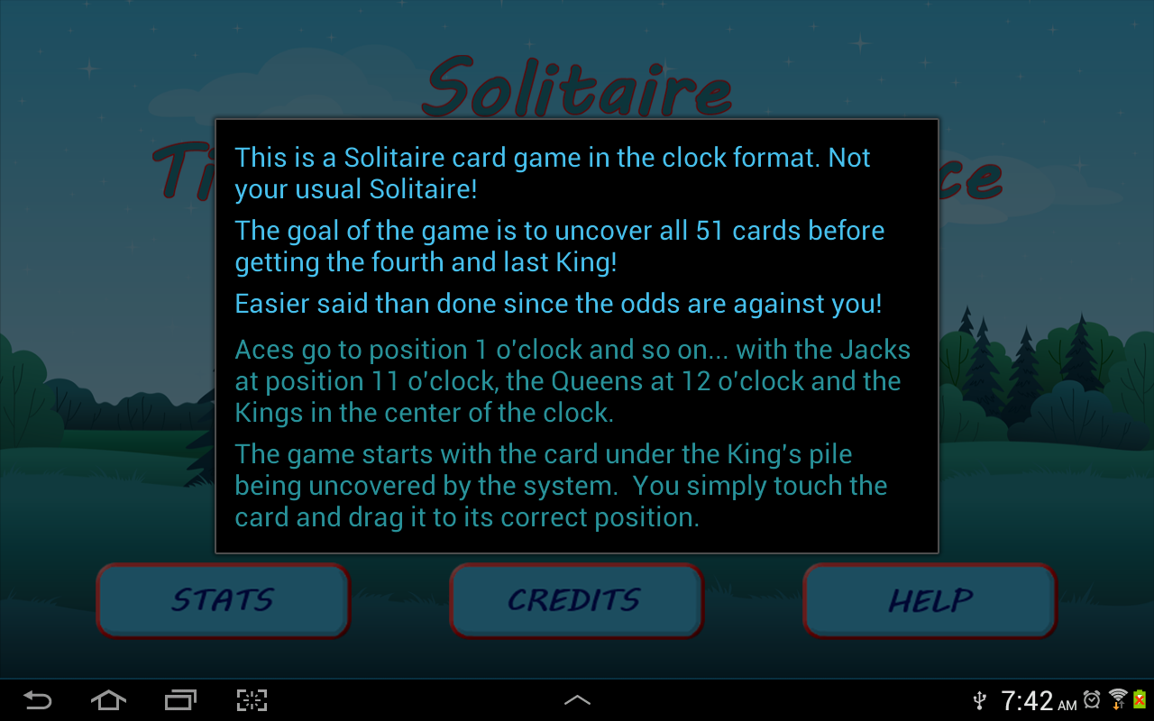 Solitaire Time- screenshot