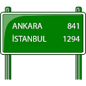 Distance Between Turkey Cities icon
