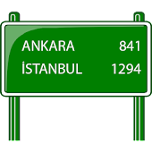 Distance Between Turkey Cities