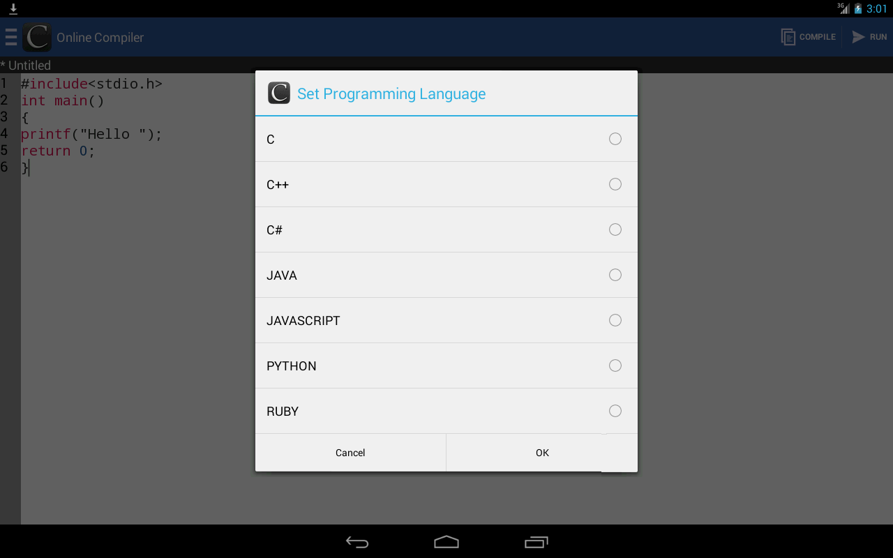 Online Compiler Android Apps On Google Play