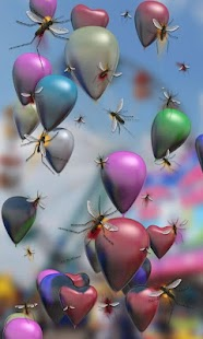 Baloons live wallpaper - screenshot thumbnail