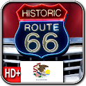 Route 66 ILLINOIS HD+Wallpaper logo