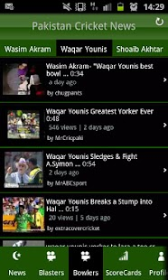 Pakistan Cricket News - screenshot thumbnail