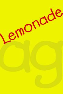 Lemonade FlipFont