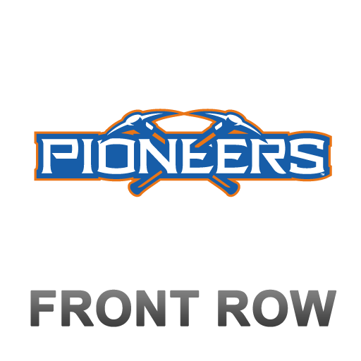 Pioneers Front Row