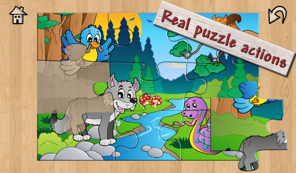 Kids Super Jigsaw Puzzles Free - screenshot
