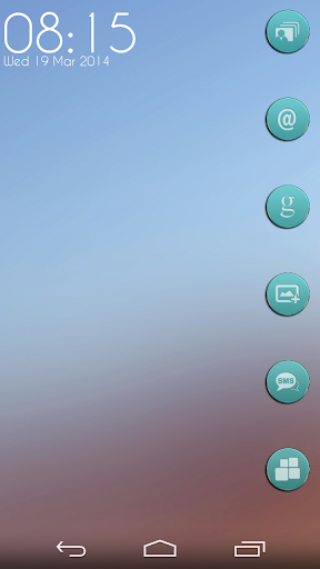 VM9 Teal Glass Icons