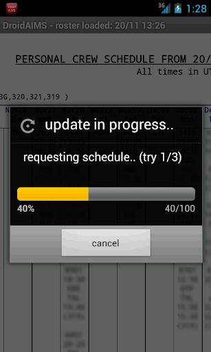 DroidAIMS 1.9952 screenshots 2
